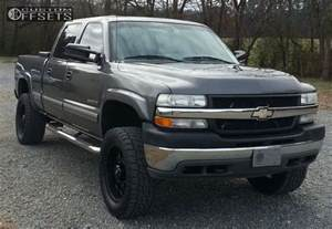 wheel offset 2001 chevrolet silverado 2500 hd slightly