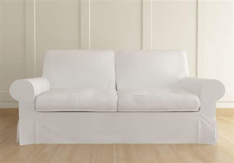 custom ikea slipcovers ikea ektorp 3 seater sofa custom slipcover in kino white