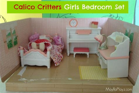 girls bedroom in a box calico critters girls bedroom set maylla playz