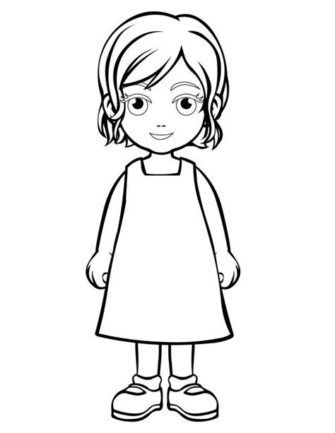 Coloring Page Person | person coloring page az coloring pages