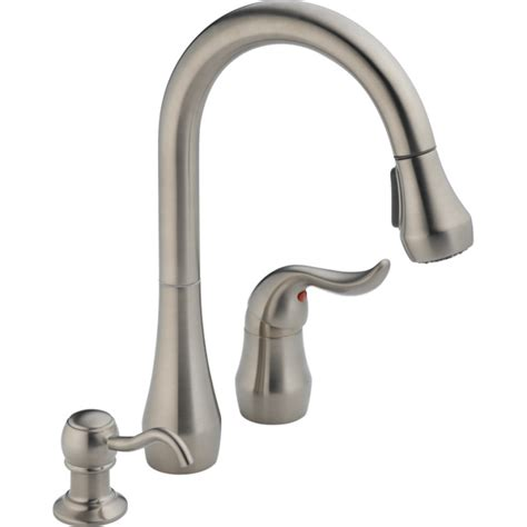 peerless pull out kitchen faucet peerless pull out kitchen faucet brushed nickel