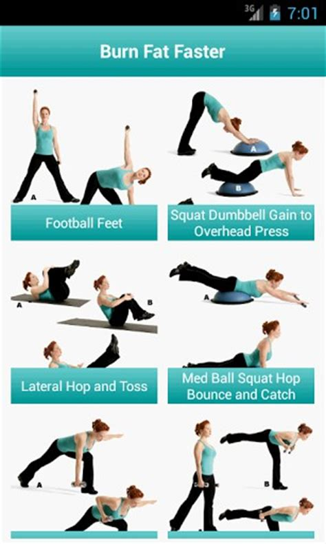 belly burning workout for android by