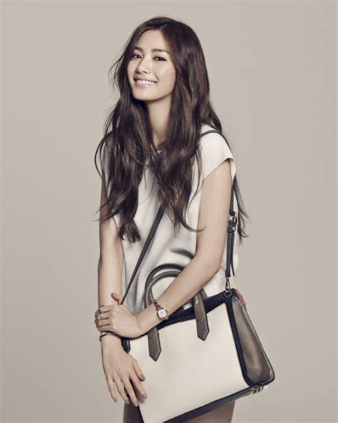 Fossil Korean Style after school s nana is all class and for fossil
