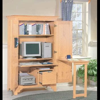 Pin By Laura Bantle On Office Pinterest Computer Armoire With Fold Out Desk