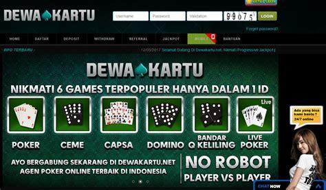 Dewakartu Adalah Situs Capsa Susun Online Uang Asli Dengan Minimal Deposit 10.000 ~ POKER UANG