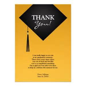 graduation thank you card sayings exle card card sayings graduation thank