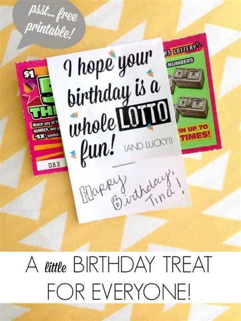 printable lotto tickets 101 diy birthday gifts free printable lotto tickets
