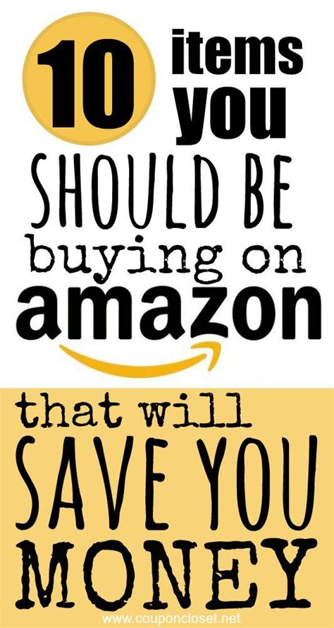 amazon top 10 top 10 items you should be buying on amazon to save money