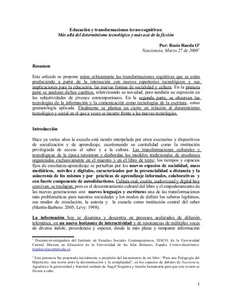 Resume Te by Resumen Tesis Doctoral R Rueda