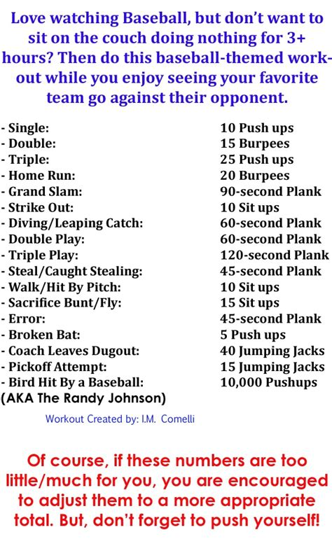 1000 images about exercises for tv baseball on