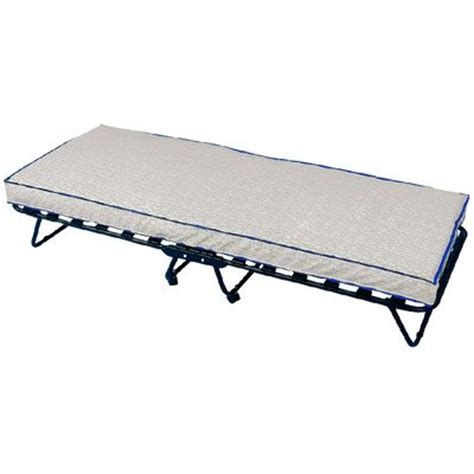 portable twin bed new twin size cot bed single folding guest bed sleeper frame mattress portable ebay