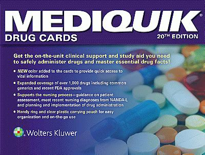 mediquik cards books mediquik cards 20th edition the physio shop