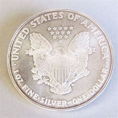 1 Oz Silver One Dollar - usa one dollar american eagle 1 oz feinsilber 999 liberty