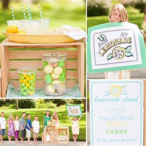 stand ideas lilsugar s lemonade stand ideas editorial by spelling