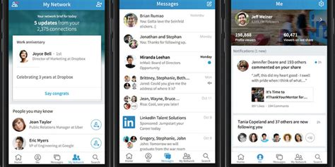 linked in mobile linkedin simplifies de sterilizes with its voyager mobile app