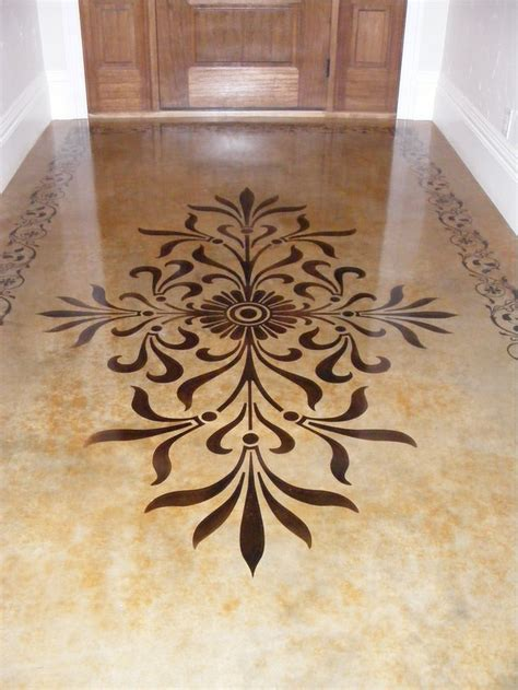 Best 25  Stained concrete ideas on Pinterest   Outdoor