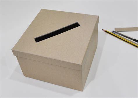 make a card box make a wedding card box