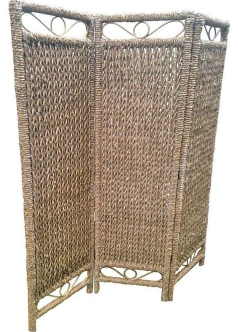 Rattan Room Divider Wicker And Rattan Screen Screens And Room Dividers