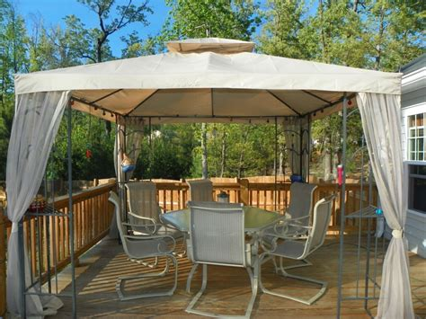 gazebo deck gazebo design awesome gazebos for decks gazebo lowes