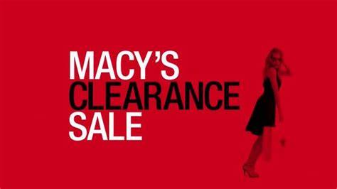 Macys Sale by Macy S Clearance Sale Tv Spot Stock Up With Savings