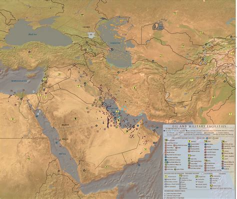 mideast us map index of mideast info maps