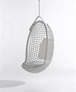 Wicker Chair Cushion Eureka Hanging Chair Contemporary Hanging Chairs By