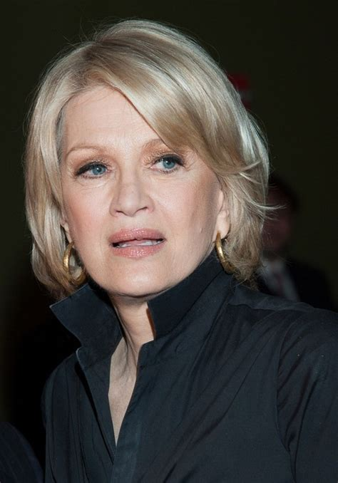 diane sawyer diane sawyer blonde chic hairstyle hairstyles weekly best