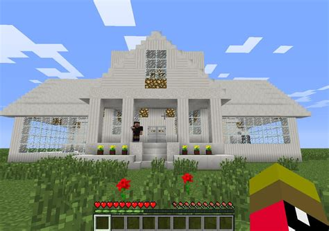 The White House Idea By Jpjp Minecraft Project