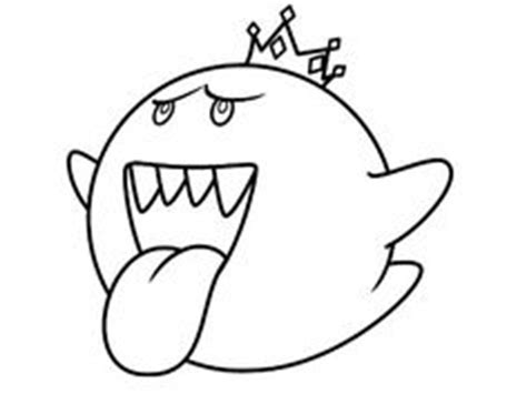 mario ghost coloring pages boo on pinterest ghosts super mario bros and enemies