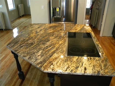 granite island kitchen beautiful custom hurricane granite kitchen the stone