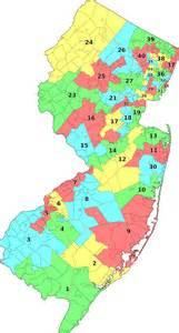 legislative districts map new jersey legislative districts 2011 apportionment