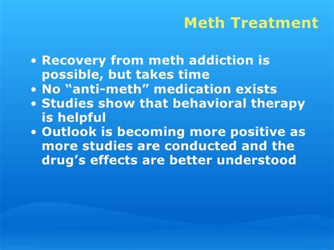 Meth Detox Time by Meth Workplace Presentation 11 28 06