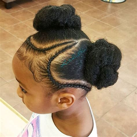 natural hairstyles two buns 13 natural hairstyles for kids with long or short hair