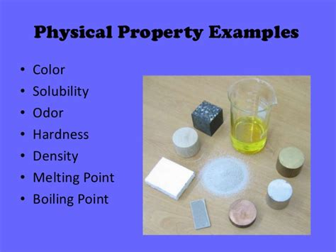 is color a physical or chemical property physical chemical properties