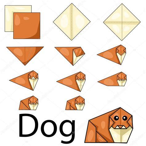 Origami Browser - illustrazione di origami vettoriali stock