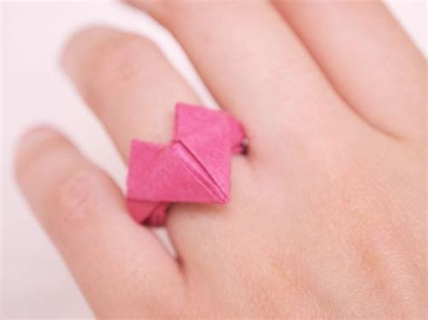 Origami Wedding Ring - 17 best images about origami ring on
