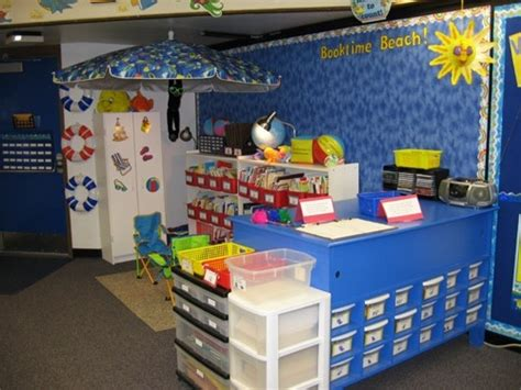 reading center themes awesome reading center ocean theme classroom pinterest