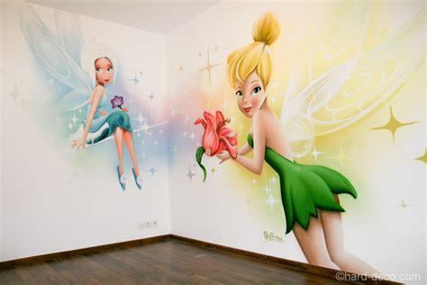 chambre fee clochette fresque d 233 coration murale f 233 e cristal et clochette sur