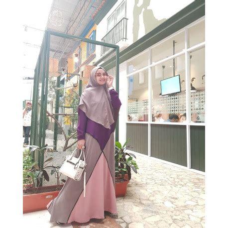 Baju Muslim Pesta Azzahra White gamis syari cantik aisyah syari by azzahra pusat