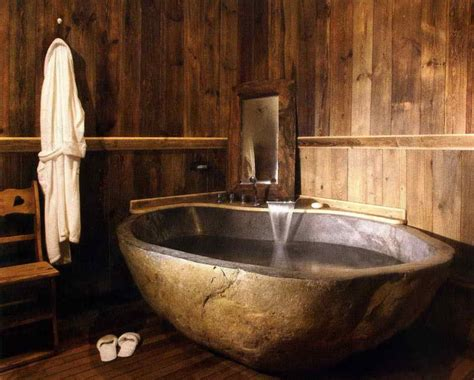 japanische badewannen 40 exceptional rustic bathroom designs filled with
