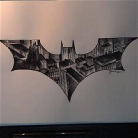 batman mandala tattoo easy drawings batman chris also included his logo sketch