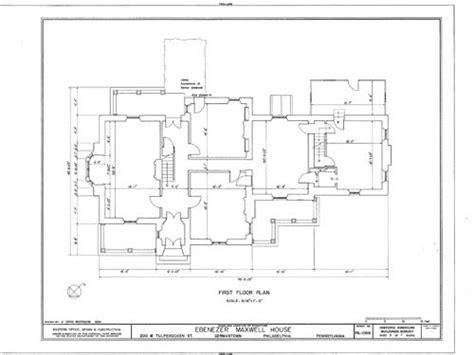 historic tudor house plans ebenezer maxwell residence philadelphia tudor style old