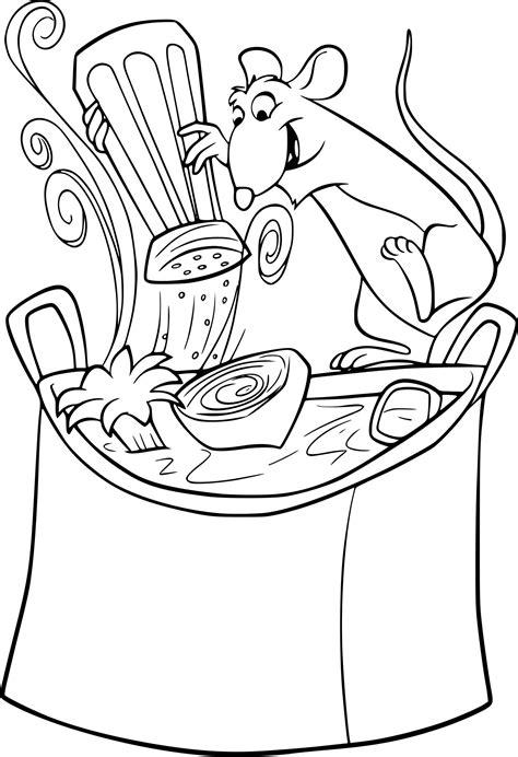 dessin de cuisine à imprimer coloriage cuisine ratatouille 224 imprimer sur coloriages info