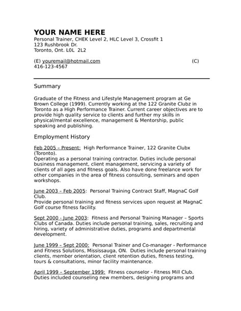 Career Coach Resume by Professional Coach Resume Template