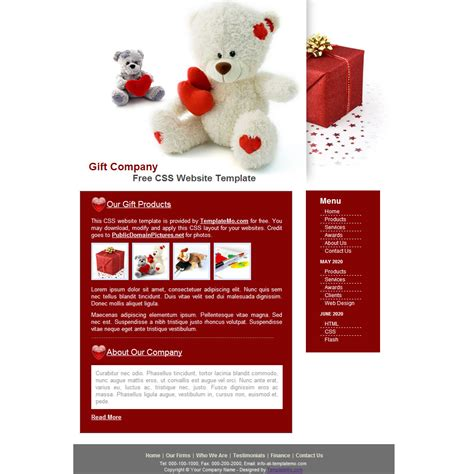 template 044 gift