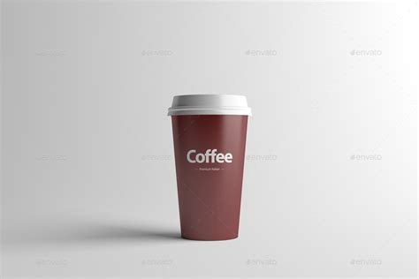 How To Make A Paper Coffee Cup - paper coffee cup packaging mock up medium by zeisla
