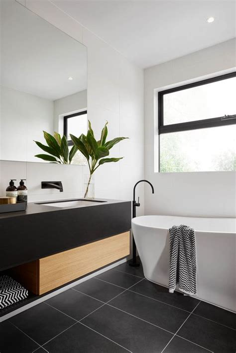 Black And White Tile In Bathroom by 30 Matte Tile Ideas For Kitchens And Bathrooms Digsdigs