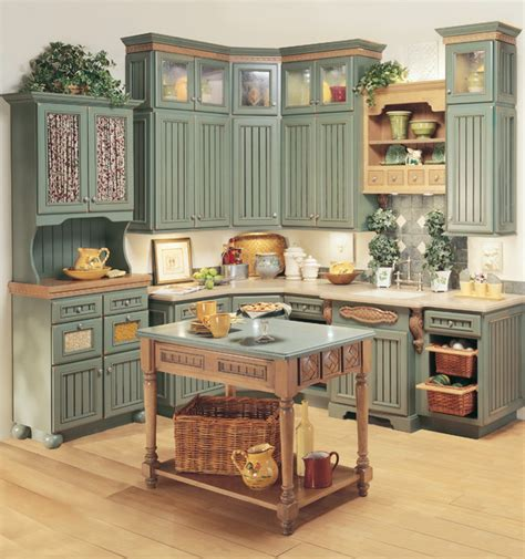 farmhouse kitchen furniture starmark cabinetry kitchen in heritage door style in maple