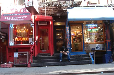 tattoo parlor east village peopling of new york a day in greenwich