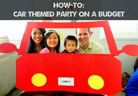 Home Decorating Party by Mommy S Modern Life How To Car Themed Birthday Party On